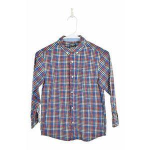 Oshkosh Bgosh Button Down Shirt 8 Blue